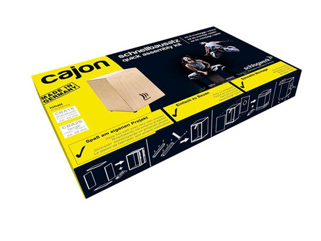 Cajon Schlagwerk CBA 1S My Cajon Medium sestavi sam set