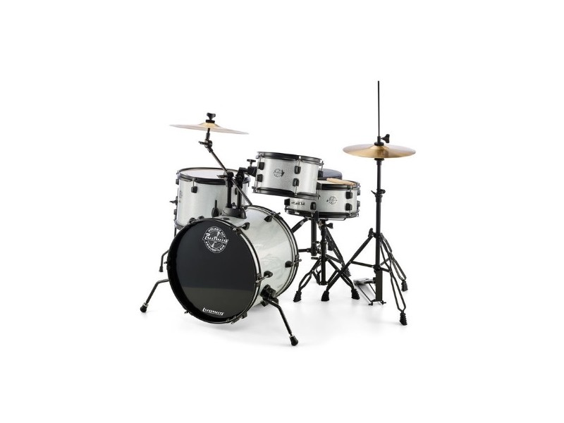 Bobni Ludwig Pocket Kit White Sparkle set16