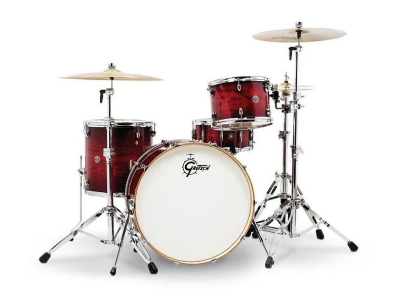 Bobni Gretsch Catalina Club CT1-R444-GCB Gloss Crimson Burst set24