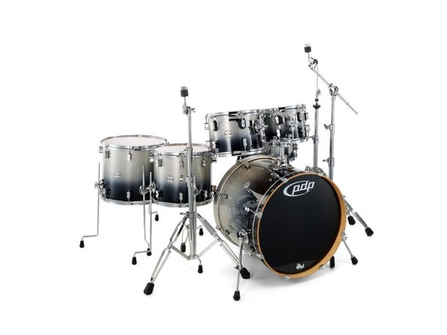 Bobni PDP by DW Concept Maple Silver Black Sparkle 6 delni set22