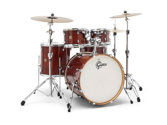 Bobni Gretsch Catalina Maple CM1-E825-WG Walnut Glaze set22