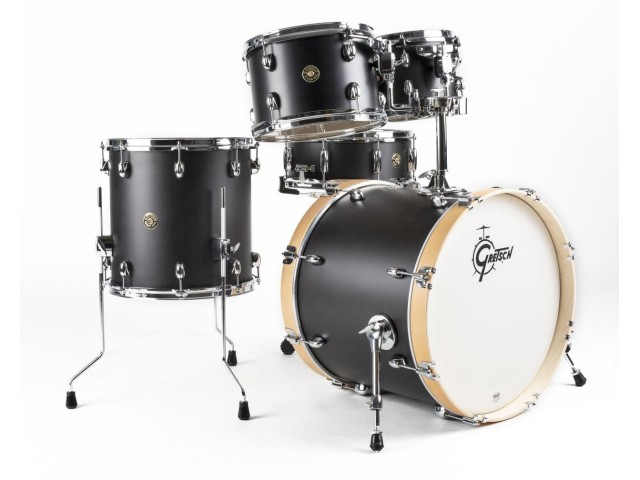 Bobni Gretsch Catalina Maple CM1-E605-SB Limited Edition Fusion Satin Black set20