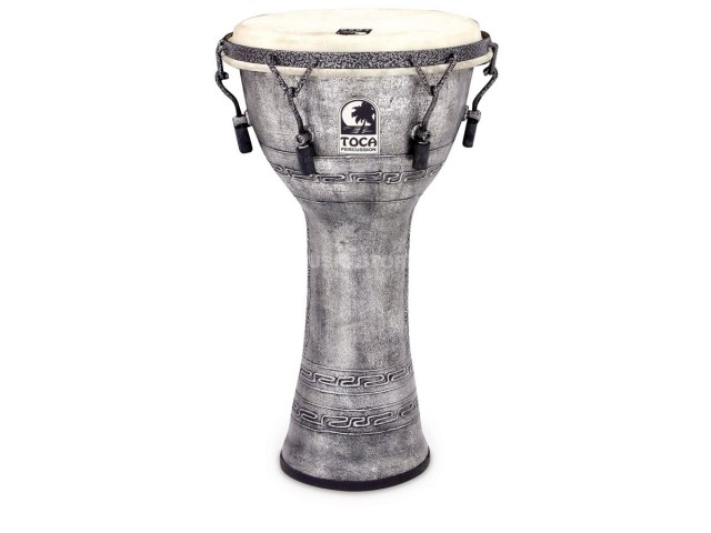 Djembe Toca SFDMX-10AS 10 Freestyle Antique Silver TO803.280