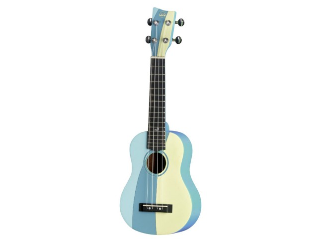Ukulele Gewa VGS Sopran Manoa Waimea W-SO-BL Tropical Waves VG511.202