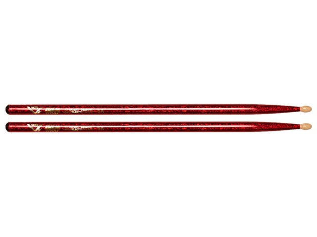 Palice Vater 5A Color Wrap Red Sparkle wood